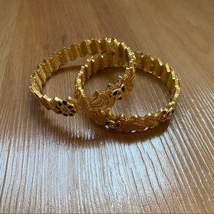 Gold Embellished Bangles✨2 FOR 10✨